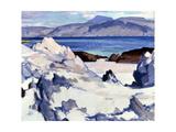 Green Sea, Iona, 1920s Giclee Print by Samuel John Peploe