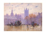 Morning in Parliament Square, 1889 Giclee Print by Herbert Menzies Marshall