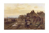Bosham Harbour at Low Tide, 1901 Giclee Print by William Teulon Blandford Fletcher
