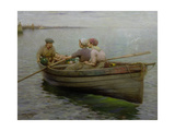 Rowing the Boat Giclee Print by Robert Mcgregor
