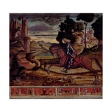 St. George Killing the Dragon, 1516 Giclee Print by Vittore Carpaccio