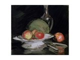 Still Life Bowl of Fruit, Melon and Carafe Giclee Print by George Leslie Hunter