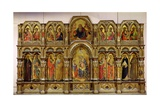 Polyptych of the Annunciation, 1357 Giclée-Druck von Lorenzo Veneziano