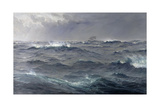 Rough Weather in the Mediterranean Gicleetryck av Henry Moore