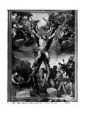 Martyrdom of St. Andrew, 1650-51 Giclee Print by Mattia Preti