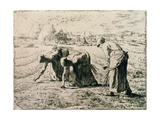 The Gleaners, 1855 Giclee Print by Jean-François Millet
