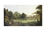 Village Cricket, c.1870 Giclee Print by Charles Waller Shayer