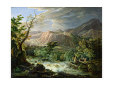 Landscape, Storm Giclee Print by Jean Antoine Constantin