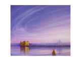 Evening at the Golden Temple, Amritsar Giclee Print by Derek Hare