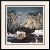 Twilight in Central Park Art by Rod Chase