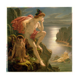 Oberon and the Mermaid Giclee Print by Sir Joseph Noel Paton