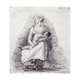 Mother and Child Giclee Print by John Harden