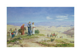 Outside Jerusalem, 1878 Giclee Print by John Rogers Herbert