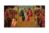 The Coronation of the Virgin Giclee Print by Giovanni Battista Cima Da Conegliano