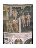 The Original Sin and the Expulsion from Paradise, 1360-70 Giclee Print by Giusto Di Giovanni De' Menabuoi