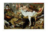 A Game Stall Giclee Print by Frans Snyders Or Snijders