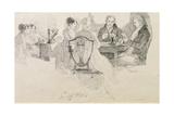 An Evening's Entertainment, 1804 Giclee Print by John Harden