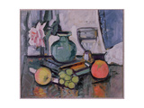 Still Life, Rose and Fruit Giclee Print by George Leslie Hunter