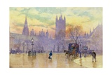 Parliament Square at Dusk, 1889 Giclee Print by Herbert Menzies Marshall