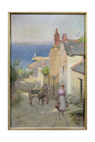 Newlyn from the Bottom of Adit Lane, 1886-94 Giclee Print by Leghe Suthers