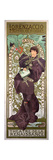 Sarah Bernhardt (1844-1923) in 'Lorenzaccio', a Play by Alfred De Musset (1810-57) at The Giclee Print by Alphonse Marie Mucha