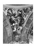 St. Luke, Pendentive from the Cupola, 1623 Lámina giclée por  Domenichino
