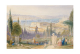 View of the Arsenal from the Graveyard Giclee Print by William Purser