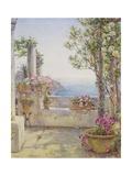An Italian Balcony Giclee Print by Ernest Arthur Rowe