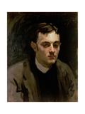 Portrait of Albert De Belleroche Giclee Print by John Singer Sargent
