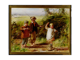 A Day's Fishing: Morning, 1866 Giclee Print by William McTaggart