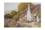 At Dunster Giclee Print by Arthur Claude Strachan
