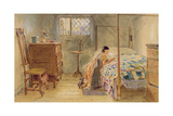 Girl at Prayer Giclee Print by William Henry Hunt