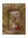 The Little Gardener Giclee Print by Joseph Harold Swanwick