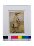 Study for 'Old Mortality' Giclee Print by Sir David Wilkie