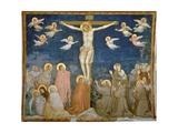 The Crucifixion Giclee Print by  Giotto di Bondone