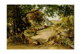 The Village, Whitehouse Giclee Print by William McTaggart
