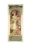 Poster Advertising 'Warner's Rust Proof Corsets', 1909 Giclee Print by Alphonse Mucha