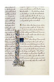 One of Two Fragments from Lancelot Du Lac (Re 223038) Giclee Print by William Morris