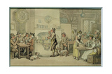 Inn Interior Giclee Print by Thomas Rowlandson