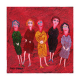 The Four Virgins Giclee Print by Fred Yates