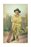 The Cricketer, c.1850 Giclee Print by William Henry Hunt