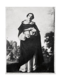 The Blessed Henry Suso, c.1636-38 Giclee Print by Francisco de Zurbarán