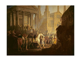 The Election of Darius Giclee Print by Sawrey Gilpin
