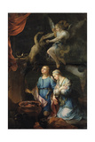 The Marriage of Tobias and Sarah. the First Night, 1733 Giclee Print by Pierre Parrocel