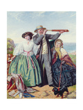 Looking for the Mail Packet, 1861 Giclee Print by Henry Garland