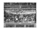 The Battle of Constantine, from the Sala Di Costantino, Raphael Rooms Giclee Print by Giulio Romano