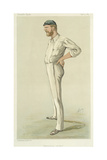 """Australian Cricket"", Cartoon from 'Vanity Fair', September 13th 1884 Giclee Print by Carlo Pellegrini"