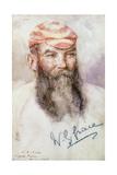W. G. Grace Giclee Print by Henry Scott Tuke