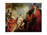 Delilah before the Blinded Samson Giclee Print by William Etty