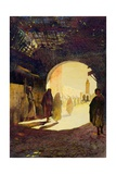 Fez, the Golden Hour, 1920 Giclee Print by Robert Burns